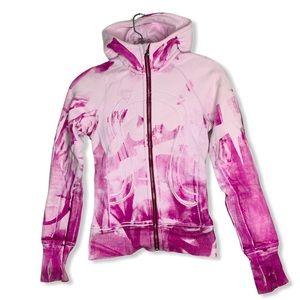 LULULEMON Jacket Special Edition Pink Tie Dye